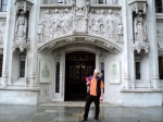 In fron of the Supreme Court in London