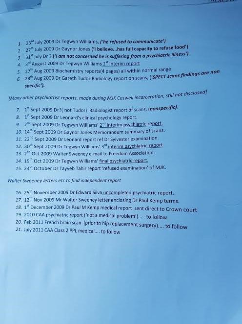 4th RO Trial Dr doc list 3