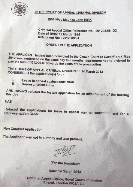 13 03 14 Cr Crt App Refusal.png