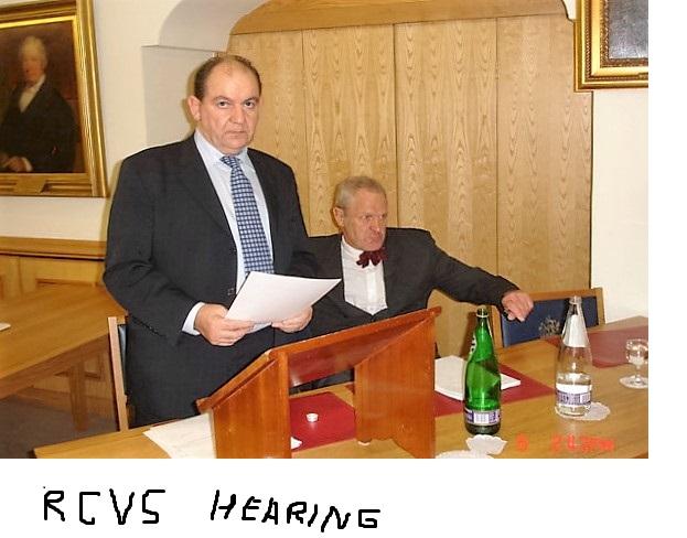 Cullinane P RCVS Hearing